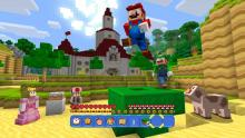 Choose a character to play in Super Craft Bros.