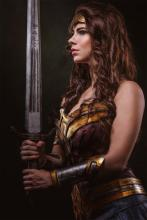 Diana has trained extensively with swords to become an expert.
