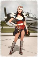 Wonder Woman in World War II.