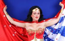 Lynda Carter's iconic version of Wonder Woman!