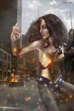 Wonder Woman, ready for battle!