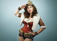 Wonder Woman as an icon of World War II