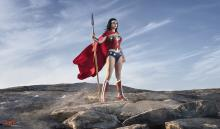 Diana stands ready to fight for justice.