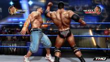 The Rock and John Cena square off