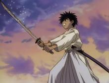 While the youngest of Kenshin's group, he slowly progresses to become a great fighter, even gets a title for himself in the manga.
