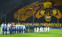 A famous example of the Borussia Dortmund fans creating an amazing atmosphere.
