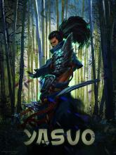 Yasuo wandering trough the forrest