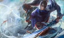 Yasuo and Zed in a clash