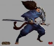 Yasuo ready for combat