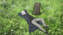 Mushishi is a peaceful anime about life.
