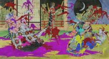 Mononoke is an interesting take on horror anime.