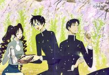 Even the normal people in xxxHOLIC are related to the supernatural in some way.