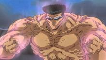 Younger Toguro powering up