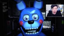 DanTDM working his magic during a playthrough of Five Nights at Freddy's