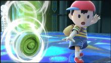 While charging his smash attacks, Ness's yoyo has a hitbox