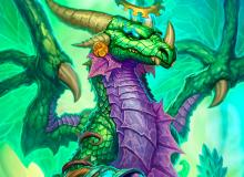 This is one of the strongest druid dragons