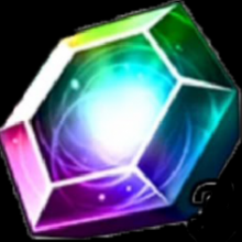 The in-game currency, Gems, which are utilized to purchase packs that are available in the game!
