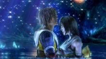 The famous love scene from FFX