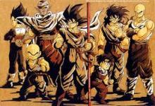 Dragonball Z, Z-warriors