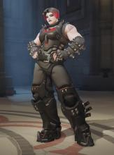 Zarya cyber goth skin - easily one of the best in the game