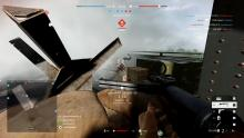 A player with the ZK-383 sprays an enemy - also wielding the ZK-383