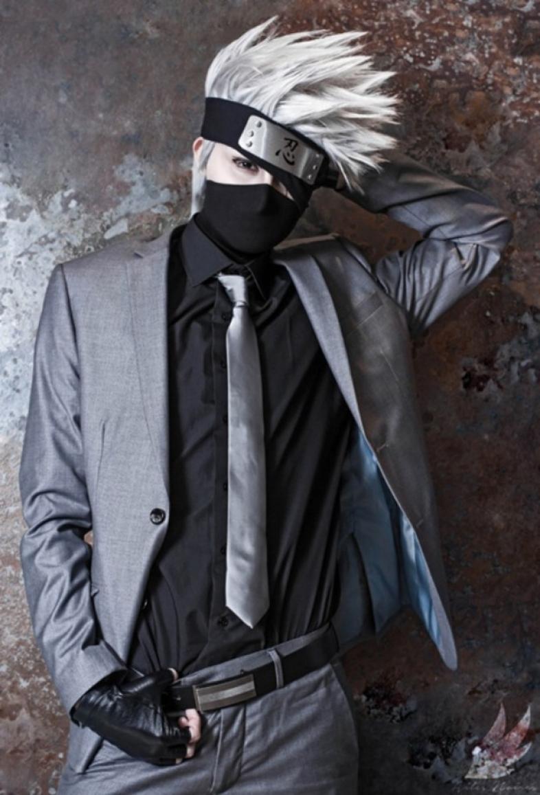 Kakashi, Suit, Cosplay