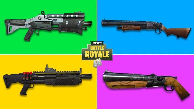 Best Fortnite Shotguns