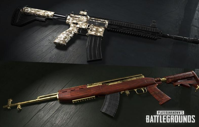 PUBG Weapon Skins - How To Get Them All