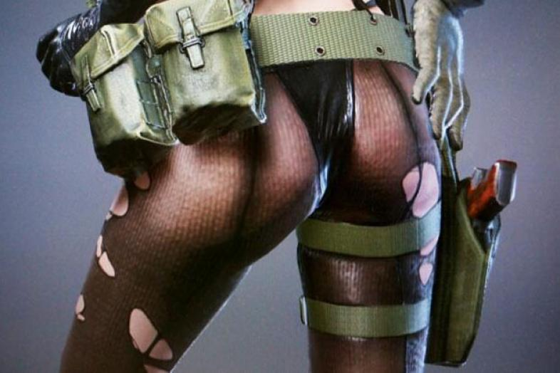 Metal Gear Solid 5: 10 Sexy Pictures of Quiet