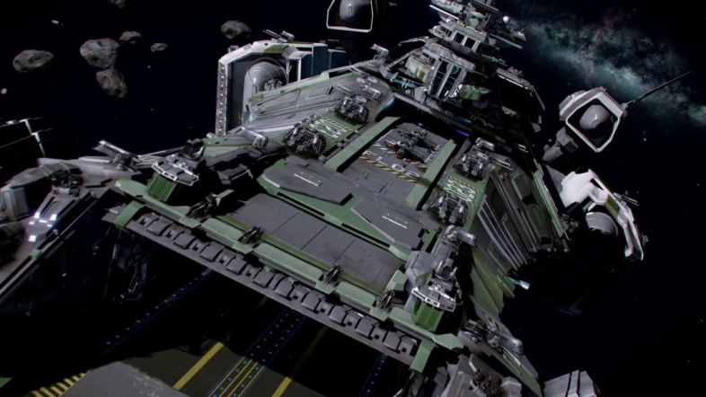 Take off from the mothership as part of Squadron 42.