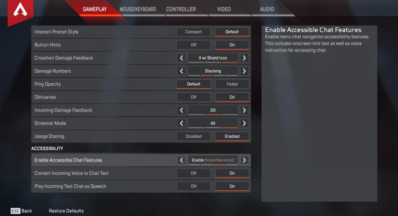 The 25 Best Apex Legends Settings That Can Get You More