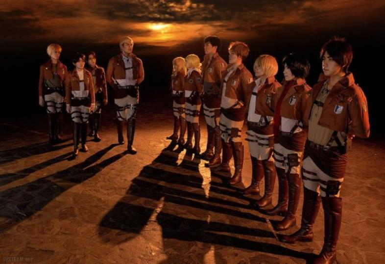 50 Attack on Titan cosplays which bring the characters to real life