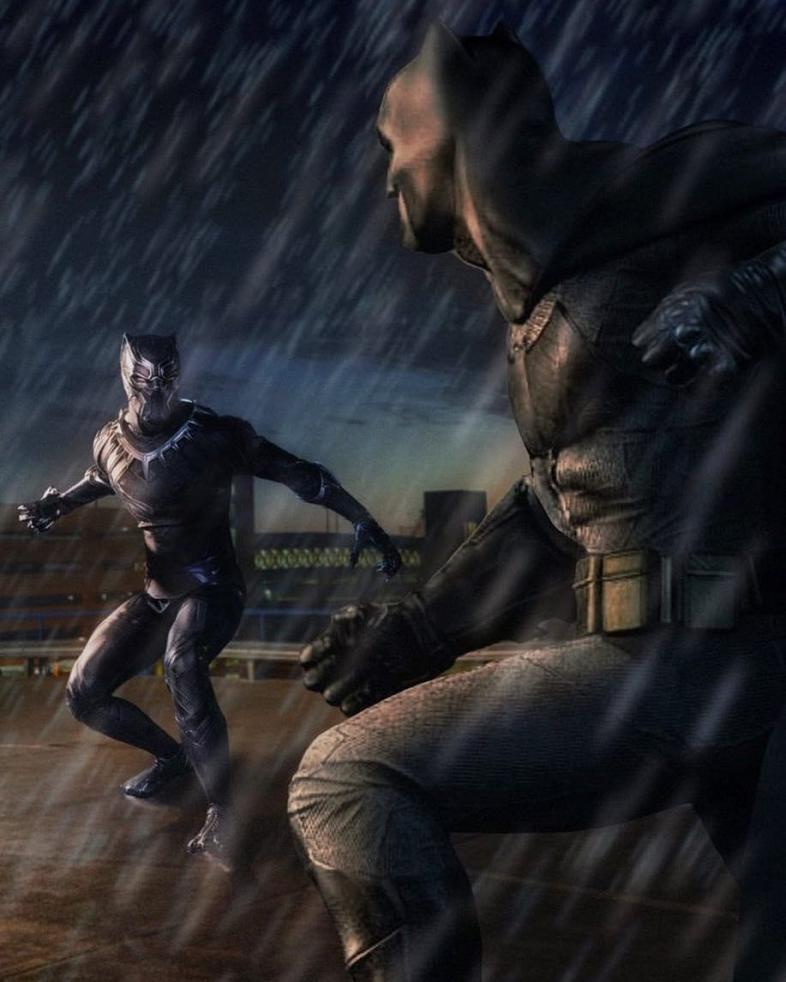 Batman vs Black Panther