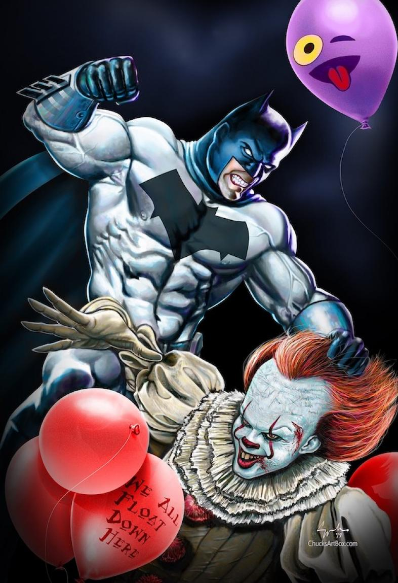 Batman vs Pennywise, Batman vs Pennywise Who Would Win
