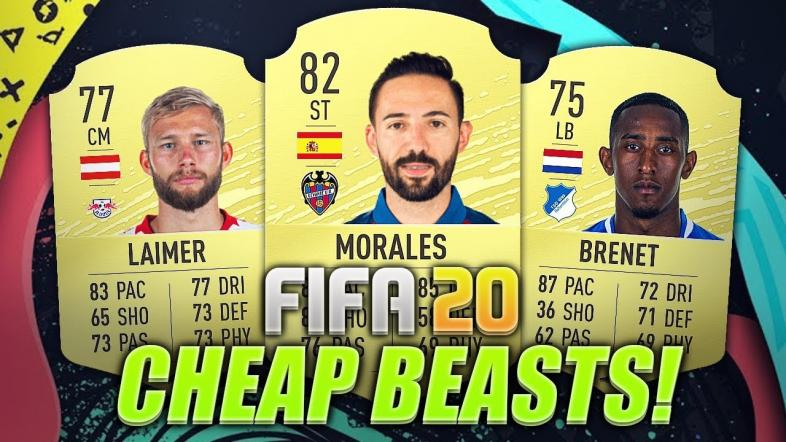 FIFA 20 best cheap players.
