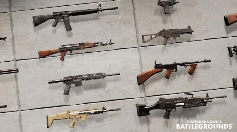 AR, SMG, Melee, Sniper, Pistol