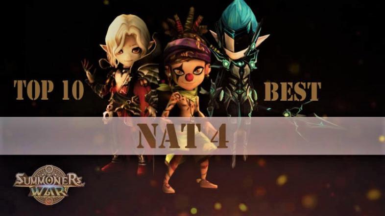 Summoners War Best Nat 4