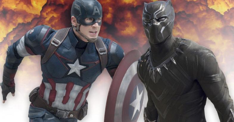 Captain America vs. Black Panther: