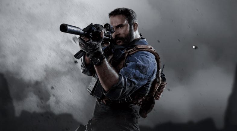 CoD Modern Warfare Captain Price