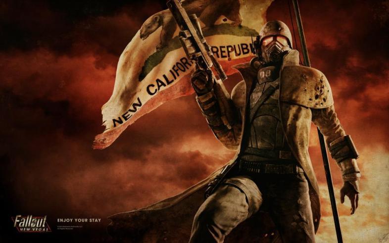 Fallout, Flag, Mask, Post-apocalyptic, Apocalypse, Game, RPG, Open world