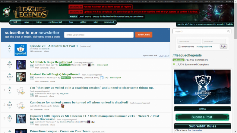 Reddit League Of Legends 21 Best Threads Every Lol Player Should Read Gamers Decide