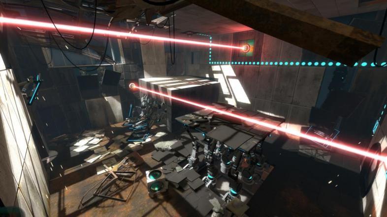 A lair befitting a homicidal robot woman
