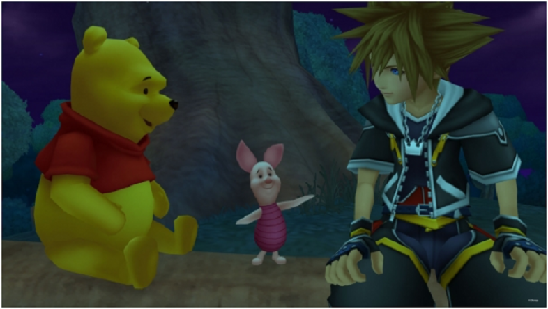 Sora's just chillin' with his homies.