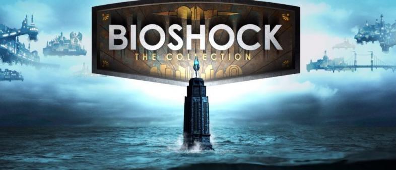bioshock, bioshock collection, poster, logo