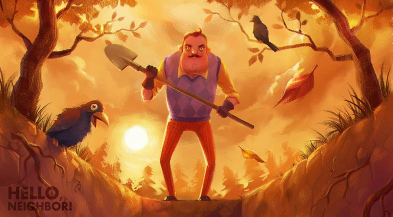hello neighbor, new horror game 2016