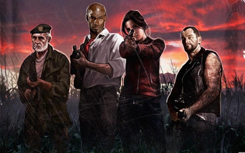 Left 4 Dead, First Person Shooter, Horror, PC, Multiplayer, Co-op, 4 Player, Films, Movie, Action, Creepy, Funny, Blood, Gore