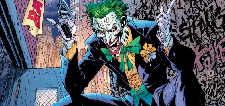 The Joker - Batman's undeniable Nemesis Number One.