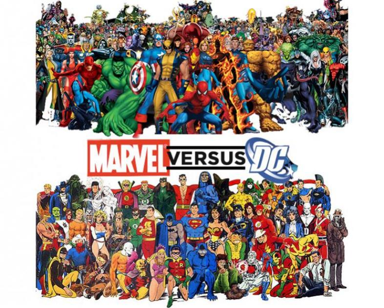 Marvel, DC, Villains