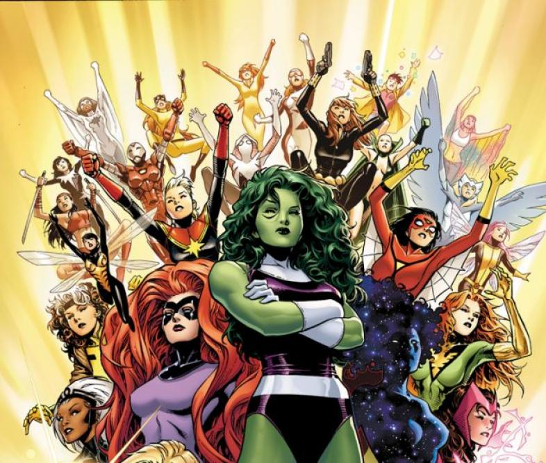 Marvel Heroes, Female Superheroes, Good influences for girls, DC Heroes