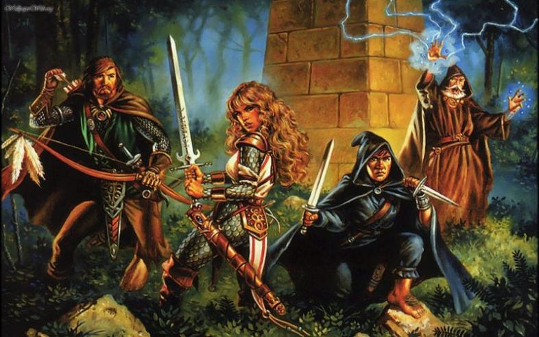 tabletop gaming, RPG classes, Dungeons and Dragons